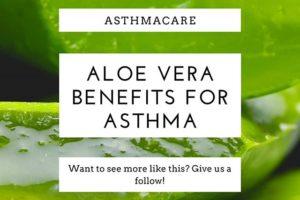 Aloe Vera Remedy for Asthma